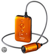 Panasonic HX-A100 Draagbare Mini Camcorder - Action camera - Oranje