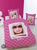 Dekbedovertrek Barbie - Roze - 1-persoons (140x200/220 cm + 1 sloop)