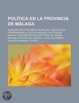Politica En La Provincia de Malaga