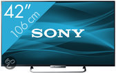 Sony Bravia KDL-42W655 - Led-tv - 42 inch - Full HD - Smart tv - Zwart