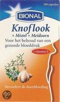 Bional Knoflook+Mistel+Meidoorn - 100 capsules -  Voedingssupplement