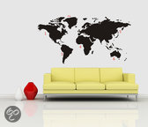 World Map Black