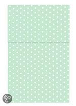 Cottonbaby Sterretjes - Ledikantlaken 120x150 cm - Mint