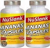 NuSlank X-trine Ananas - 2x63 Capsules