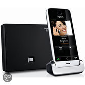 Gigaset SL910A - Single DECT telefoon met antwoordapparaat en touchscreen - Aluminium