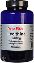 Nova Vitae Lecithine 100 st - 1200 mg