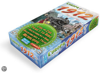 Ticket To Ride Europa 1912 - Uitbreiding