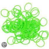 Green Groen Loom Bands Elastiekjes - 300 Stuks