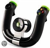 Foto van Microsoft Draadloos Racestuur Zwart Xbox 360