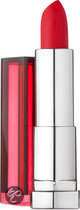Maybelline Color Sensational Reds - 527 Lady Red  - Rood - Lippenstift