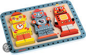 Janod Chunky Puzzel Robots