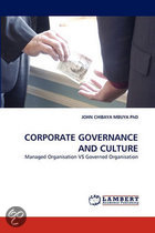 Corporate Governance and Culture