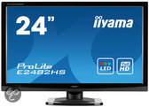 24i LED LCD. 1920x1080. TN-panel. 250cd/m*2. 5M:1 ACR. VGA. HDMI. DVI. 2ms. TCO5.2. Speakers (23.6i/60cm VIS)