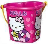 Hello kitty Emmer 15 cm hart roze
