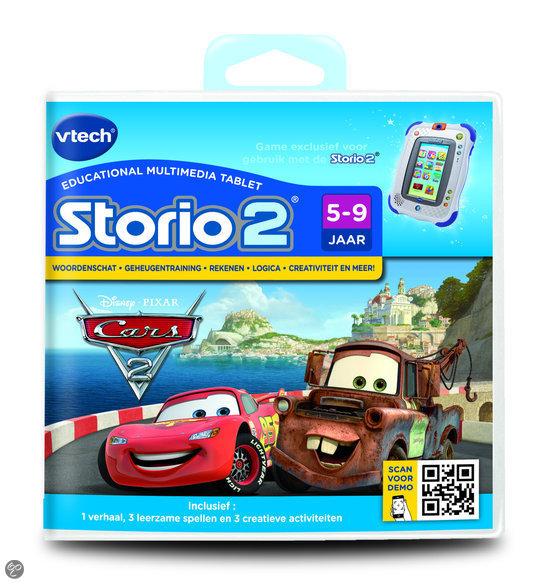 VTech Storio 2 Game - Cars 2