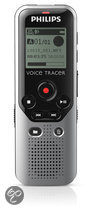 Philips DVT1200 - Digitale voice recorder - Zilver