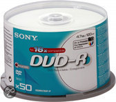 DVD-R 4.7GB 120Mn.16X (50)