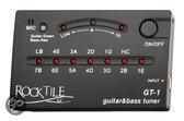 Rocktile Rocktile GT-1 tuner voor gitaar/bas