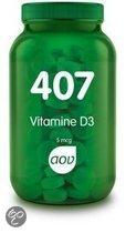 AOV Voedingssupplementen AOV 407 Vitamine D3 5mcg 180tab