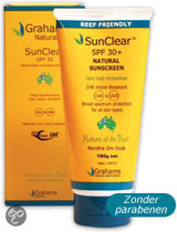 Grahams Sun Clear SPF 30 - 150 ml - Zonnebrandlotion