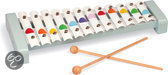 Confetti xylofoon metaal 12 toetsen