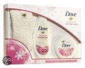 Dove Winter Care + Superzachte wintersokken - Geschenkset