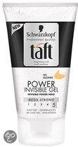 Taft Styling Power Invisible - 150 ml - Gel