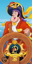 Piet Piraat Badlaken