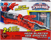 Spider-Man Mega Web Shooter & Handschoen