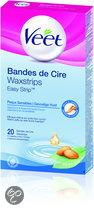 Veet Waxstrips Gevoelige Huid - 20 stuks - Ontharingsstrips