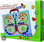 Ministeck Pinnenspel - 210 stuks