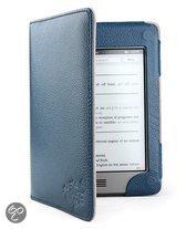Gecko Covers Gecko Covers Leren Beschermhoes voor Kindle Touch - Blauw