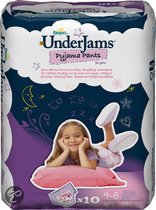 Pampers Underjam S/M Girl  Prc