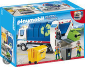 Playmobil Vuilniswagen met Zwaailicht - 4129