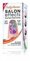 Sally Hansen Salon Effects Real Nail Polish Strips  - Girl Flower 340 - Nagelstickers