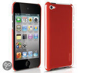 Philips DLA1272 Harde hoes voor de iPod Touch 4G - Rood