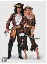 Luxe piraten dameskleding Sparrow 42 (xl)