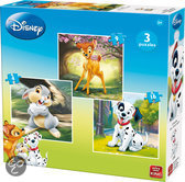 Disney 3in1 Animal Friends - Puzzel
