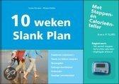 10 weken Slank Plan + stappenteller - ISBN:9789080459397