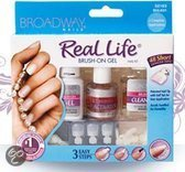 Broadway Nails Kit Real Life Brush On