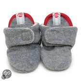 Slipper Basic - Slofjes - Light Grey Melange 6-12 maanden