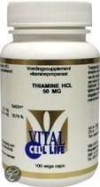 Vital Cell Life Voedingssupplementen Thiamine HCL 50mg