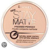 Rimmel Stay Matte Pressed Powder - 3 Peach Glow - Make-uppoeder