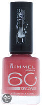 Rimmel 60 Seconds Finish - 415 Instyle Cora - Roze - Nagellak