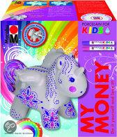 Marabu Porseleinenspaarpot voor Kinderen - Unicorn