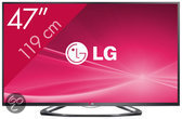 LG 47LA6418 - 3D led-tv - 47 inch - Full HD - Smart tv