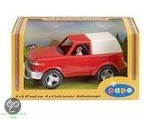 Papo 4WD Terreinwagen met bestuurder