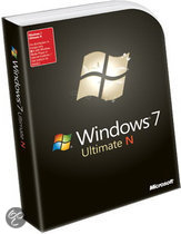 Microsoft Windows 7 Ultimate N - Engels