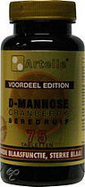 Artelle D-Mannose Cranberry Beredruif - 75 Tabletten - Voedingssupplement