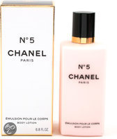 Chanel No.5 For Women - 200 ml - Bodylotion